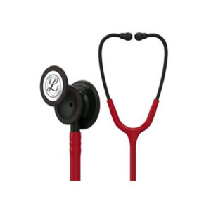 3M Littmann 5868 Classic III Stethoscope With Black Finish Chestpiece Burgundy 1