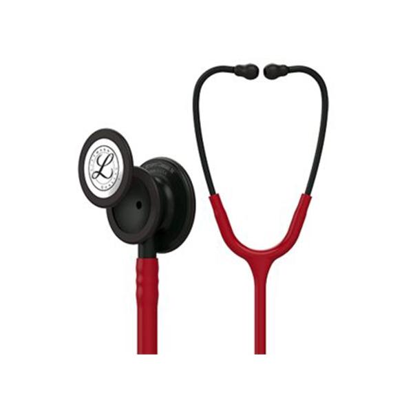 3M Littmann 5868 Classic III Stethoscope With Black Finish Chestpiece Burgundy 1