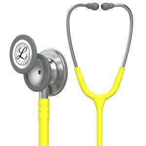 3M Littmann Classic III Stethoscope, Lemon-Lime Tube, 27 inch, 5839