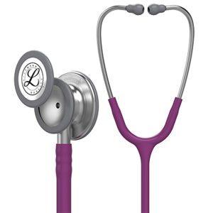 3M Littmann Classic III Stethoscope, Plum Tube, 27 inch, 5831