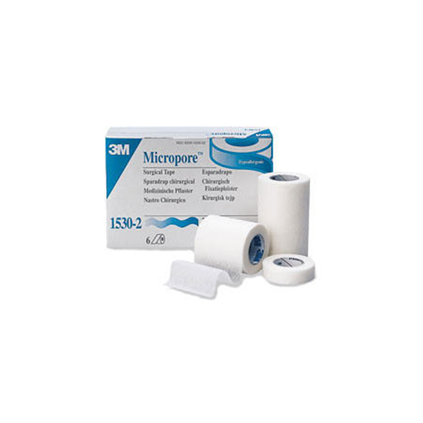3M Micropore 2 Inch Surgical Tape 1530 2 1
