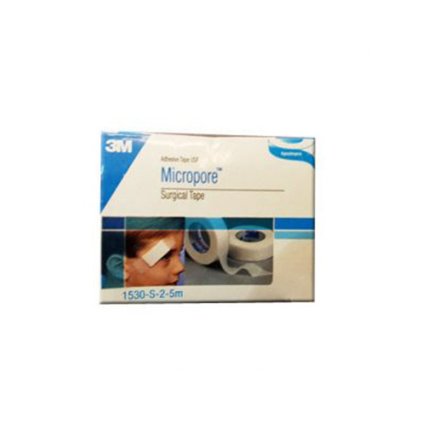 3M Micropore Paper Surgical Tape Individual Pack 1530S 2 1