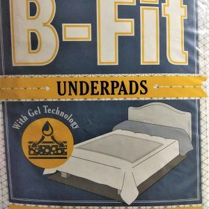 B-Fit Underpad 10's 60x90mm