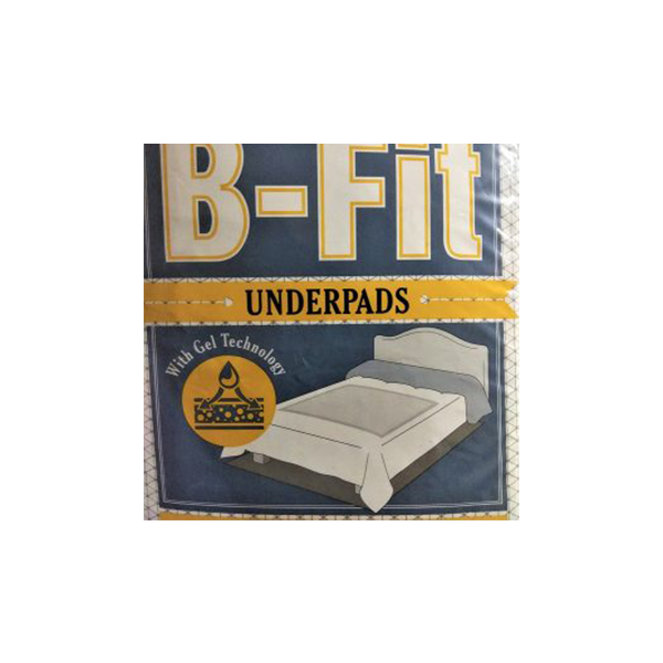 B Fit Underpad 10GCOs 60x90mm