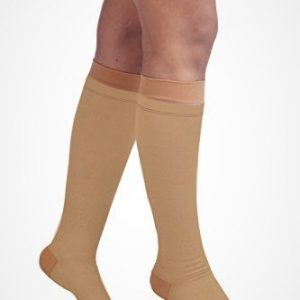 Comprezon Varicose Vein Stockings Class 2 Below Knee- 1 pair (LARGE)