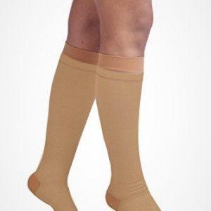 Comprezon Varicose Vein Stockings Class 2 Below Knee- 1 pair (MEDIUM)