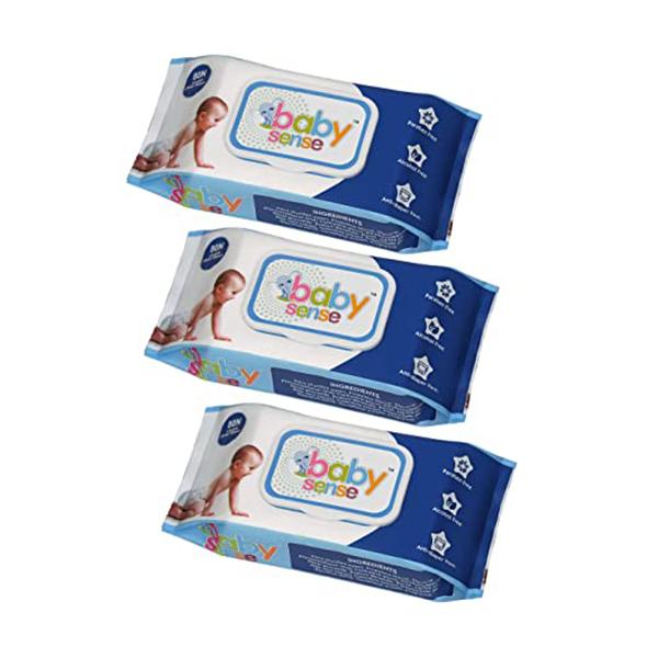 DermaH2O Water Wipes 9 Packs Of 60 Count 1