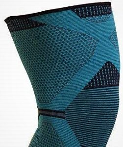 Dyna 360 Degree protection 4-Way Stretchable Unisex Pain Relief Knee Support Cap (XL)