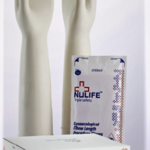 Elbow Length Gynaecology Procedure Gloves(Powdered)