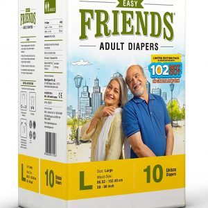Friends Adult Diaper Easy Large 10's