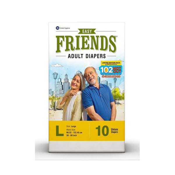 Friends Adult Diaper Easy Large 10GCOS 1