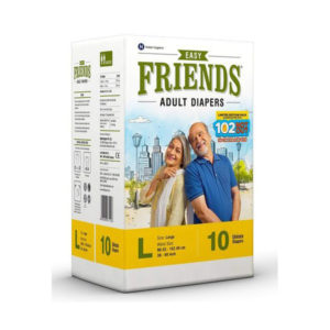 Friends Adult Diaper Easy Large 10GCOS