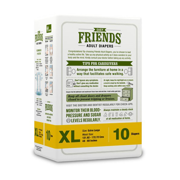 Friends Easy Adult Diapers GCo Extra Large 1