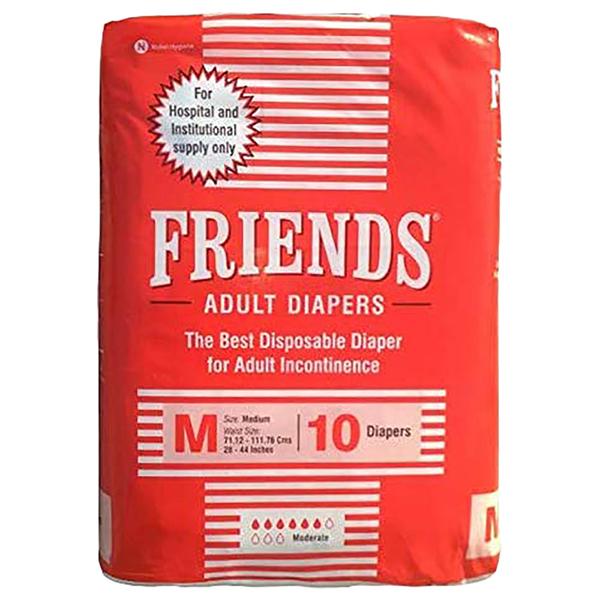 Friends Hospital Adult Diapers Medium 1 1
