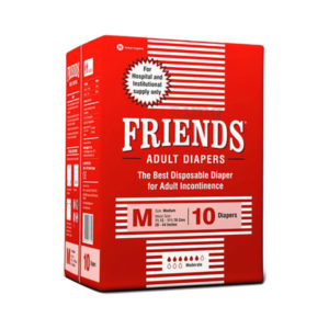 Friends Hospital Adult Diapers Medium 2