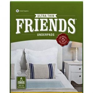 Friends Ultrathin Underpads – Large (10 Count)