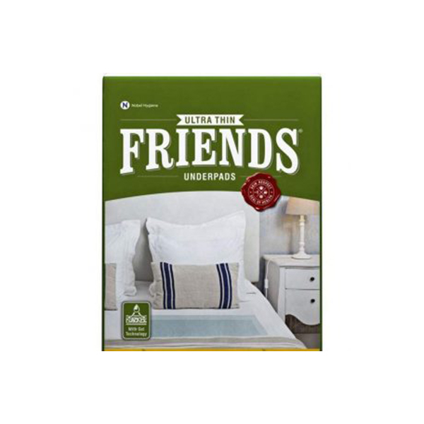 Friends Ultrathin Underpads GCo Large 10 Count