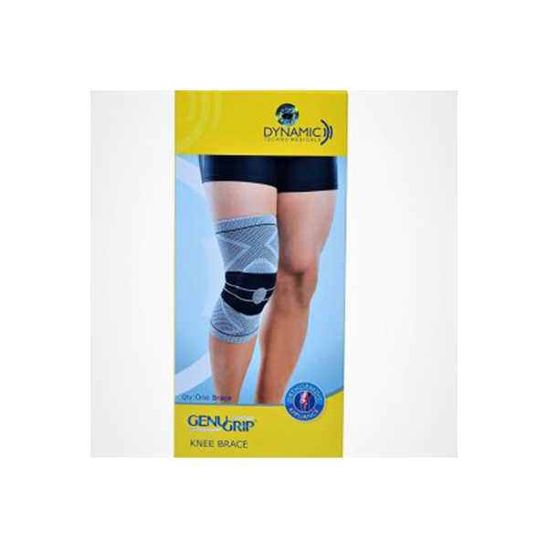 Genu Grip Left Leg Knee Brace – LARGE 37 40 Cm 1