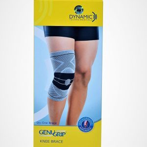 Genu Grip Left Leg Knee Brace – LARGE (37-40 cm)