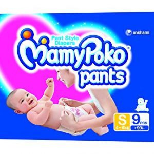 Mamy Poko Pant Style Small Size Diapers (9 Count)