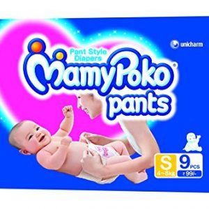 MamyPoko Pants Small Size Diapers (4 Count)
