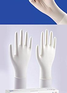 NULIFE LATEX EXAMINATION POWDERED GLOVES NON-STERILE(100 psc)