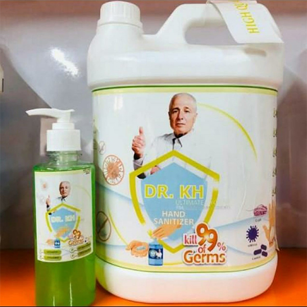 Sanitizer GCo 5 Ltr Can 1