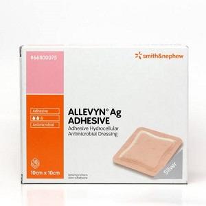 Smith & Nephew Allevyn Ag Adhesive 10 x 10