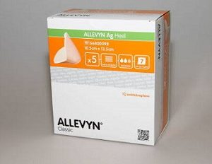 Smith and Nephew Allevyn Ag Heel Dressing 66800098