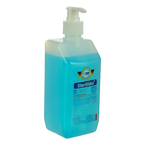 Sterillium Hand Sanitizer GCo 500 Ml Blue 1