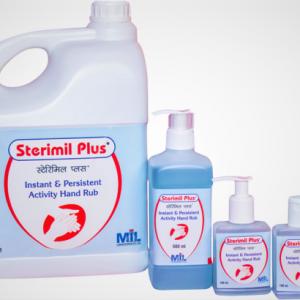 Sterimil Liquid Hand Disinfectant 500ml(BLUE)