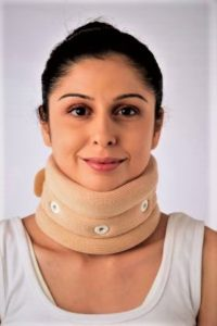 Vissco-Cervical Collar with Chin Support – Regular(0301A)
