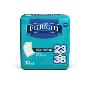 FitRight Underpads 23″ X 36″