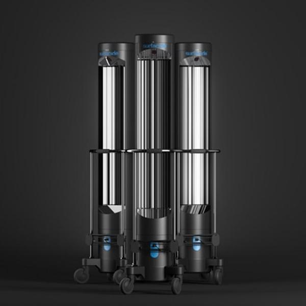 Helios System GCo Next Generation UV C Disinfection