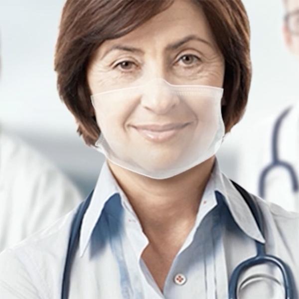 Hello Mask – A Transparent Medical Mask