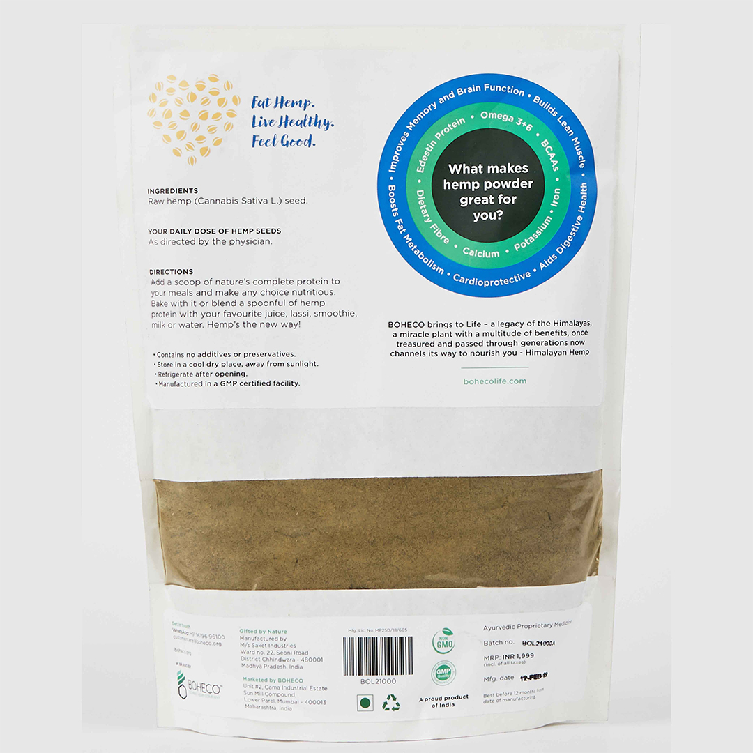 Hemp Seed Powder GCo 1000g 1