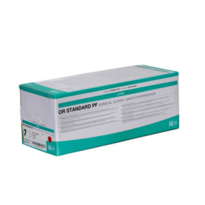 OR Standard PF Latex Surgical Gloves