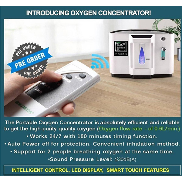 Homecare Oxygen Concentrator 1