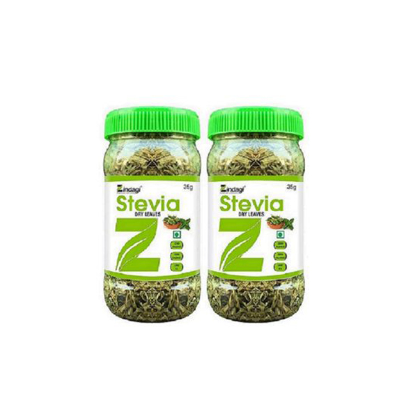 Zindagi Stevia Dry Leaves GCo 35gm Pack Of 2