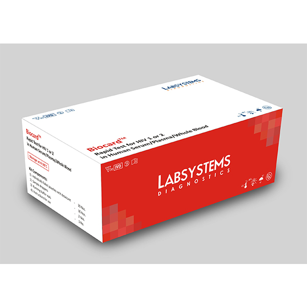 Biocard Rapid Test For HIV 1 Or 2