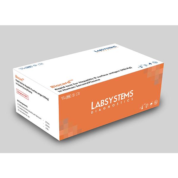 Biocard Rapid Test For Hepatitis B Surface Antigen