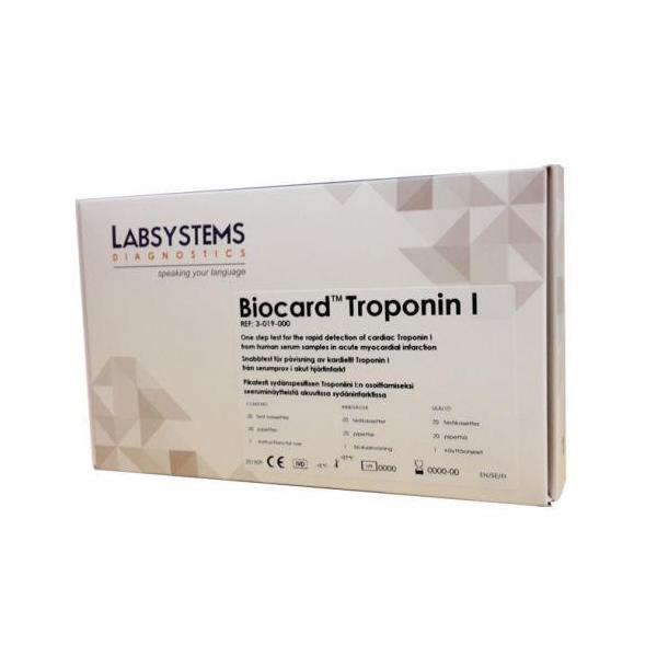 Biocard Troponin Test