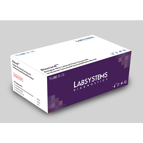 BiocardDengue NS1 Lateral Flow Assay Kit