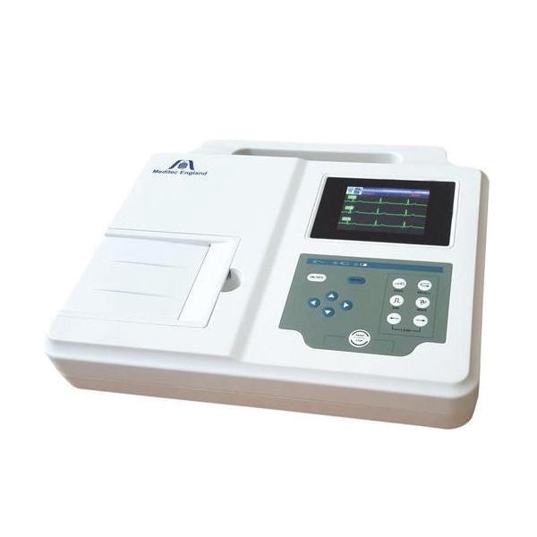 Meditec England Three Channel ECG Machine 1