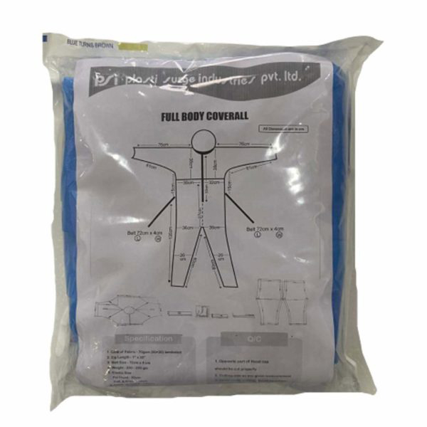 Shield Non Laminated Coverall Pack Of 3