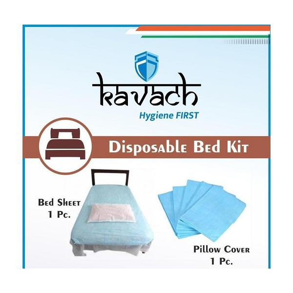 Kavach Disposable Bedsheet Kit 30gsm 2
