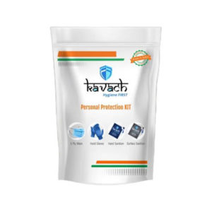 Kavach Hygiene First Personal Protection Kit Combo 1