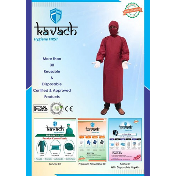 Kavach Surgical Gown Testing Kit 1