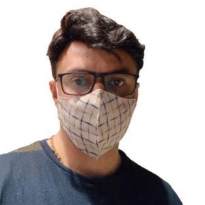 Kavach Two Layered Mix Printe Fabric Masks 1