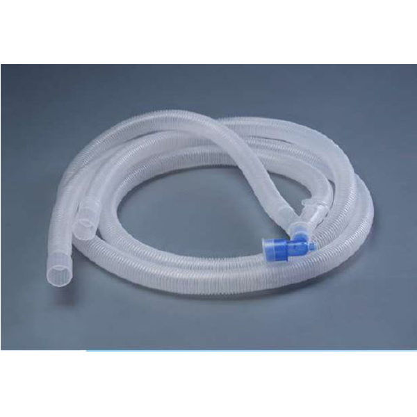 Breathing Circuits Adult Without Water TrapWith Intermittent Cuff